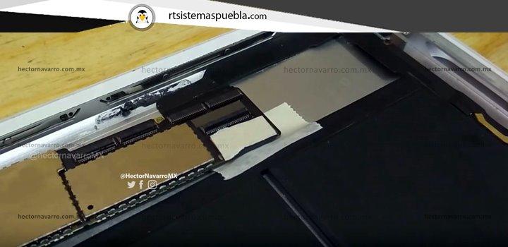 "Pegar ""masking tape"" sobre la carcasa de aluminio para no provocar corto circuito con las pinzas caimán"