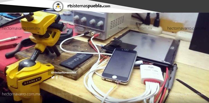 El consumo de Amperes baja porque el iPhone entra en reposo