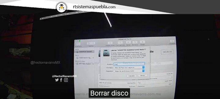 Borrar disco