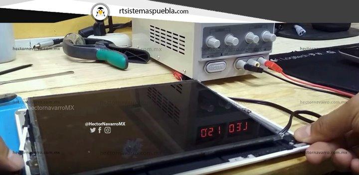 Desbloquear iPad presionando boton de encendido