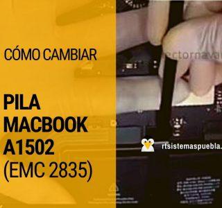 Cómo cambiar pila MacBook A1502 (EMC 2835)