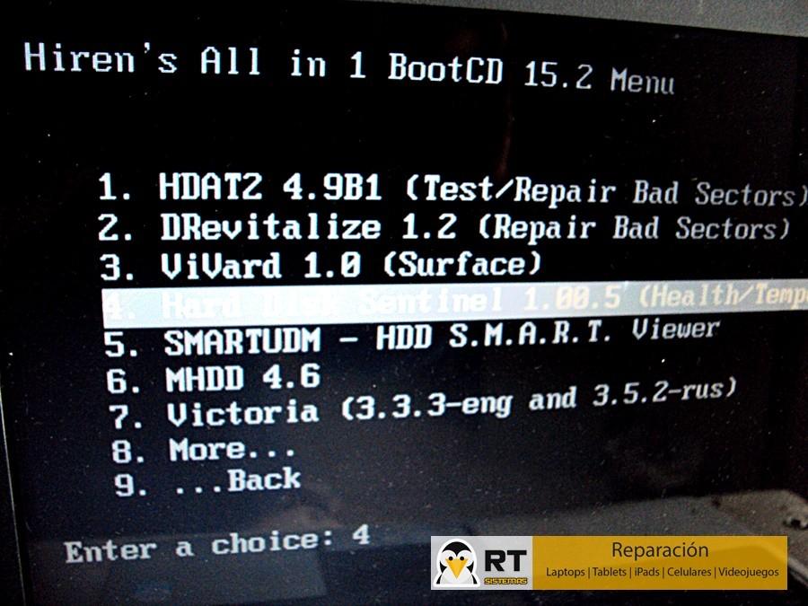 revisar un disco duro dañado con hirens boot cd (7)
